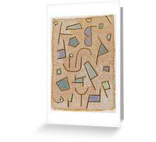 Paul Klee, Slightly Dry Poem Greeting Card