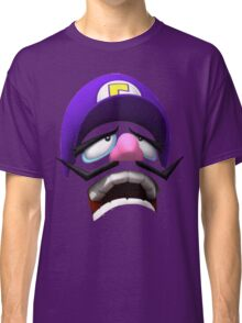 Waluigi Face Classic T-Shirt
