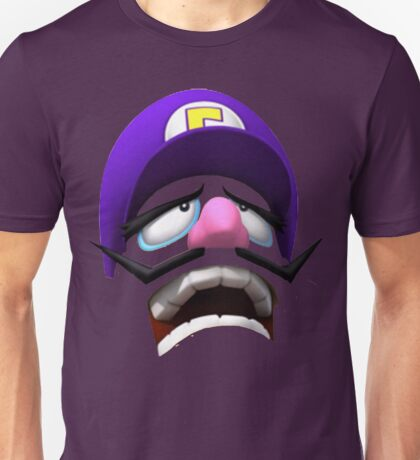 Waluigi Face Unisex T-Shirt