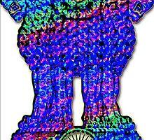 Ashoka's emblem by indusdreaming