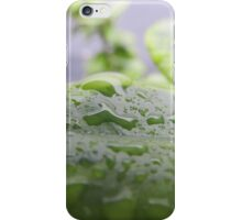 Natural water droplet iPhone Case/Skin