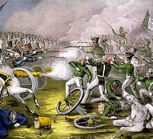 Battle of Buena Vista - 1847 - Currier & Ives by CrankyOldDude