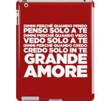Grande Amore - Eurovision 2015 iPad Case/Skin