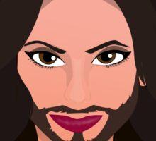 Conchita - Queen of Europe Sticker
