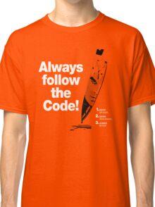 Dexter 'Always Follow The Code!' Classic T-Shirt