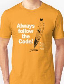Dexter 'Always Follow The Code!' Unisex T-Shirt