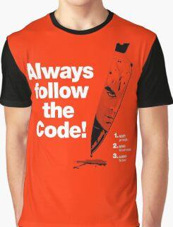 Dexter 'Always Follow The Code!' Graphic T-Shirt