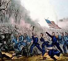 Battle of Mill Spring, Ky - 1862 - Currier & Ives by CrankyOldDude