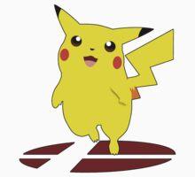 Pikachu - Super Smash Bros Melee by PrincessCatanna