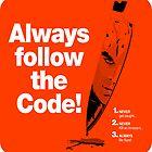 Dexter 'Always Follow The Code!' by godgeeki
