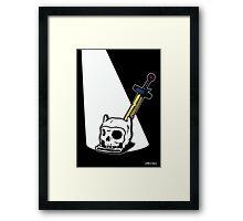 Death Of A Hero - Adventure Time - Finn The Human Framed Print