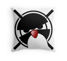 Linux Gamers Throw Pillow