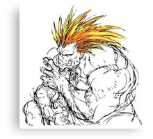Streetfighter Blanka Canvas Print