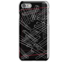 'Dropped Cigarettes' design by LUCILLE iPhone Case/Skin