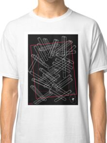 'Dropped Cigarettes' design by LUCILLE Classic T-Shirt