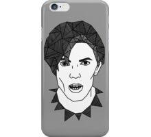 Geometric David Bowie iPhone Case/Skin