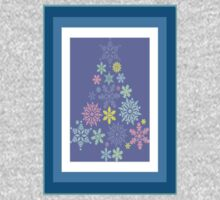 Colorful Snowflake Christmas Tree One Piece - Long Sleeve