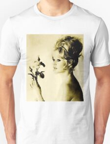 Brigitte Bardot Hollywood Icon by John Springfield Unisex T-Shirt