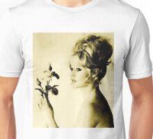 Brigitte Bardot Hollywood Icon by John Springfield Unisex T-Shirt