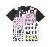 'Hands and Exes' design by LUCILLE Graphic T-Shirt