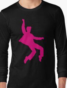 Pink Elvises Long Sleeve T-Shirt