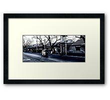 beijing sidestreet Framed Print
