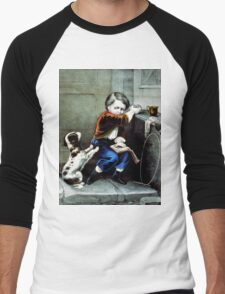 Begging a bite - 1907 - Currier & Ives T-Shirt