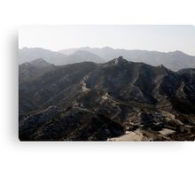 great wall 003 Canvas Print