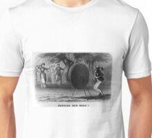 Bending her beau - 1880 - Currier & Ives Unisex T-Shirt