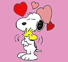 hug valentine snoopy peanut by goneficri
