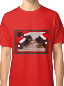 A Time Of Joyous Giving Greeting Vector Classic T-Shirt