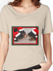 A Time Of Joyous Giving Greeting Vector Women's Relaxed Fit T-Shirt