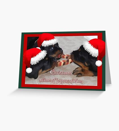 A Time Of Joyous Giving Greeting Vector Greeting Card