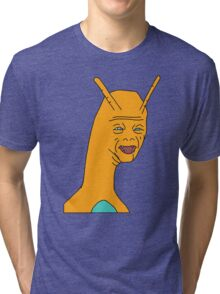 Weird Charizard Tri-blend T-Shirt