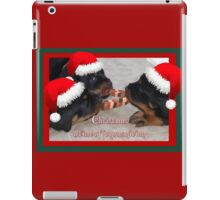 A Time Of Joyous Giving Greeting Vector iPad Case/Skin