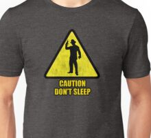 "Freddy Krueger ""Caution Don't Sleep"" Unisex T-Shirt"