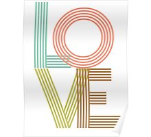 LOVE - typography Poster