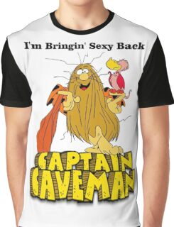 "Captain Caveman ""I'm Bringin' Sexy Back"" Graphic T-Shirt"