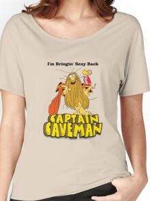 """Captain Caveman """"I'm Bringin' Sexy Back"""" Women's Relaxed Fit T-Shirt"""
