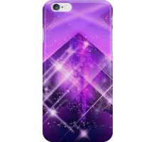 Abstract purple modern design with lots of lights iPhone Case/Skin