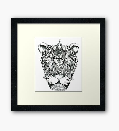 Magical Monochrome Framed Print
