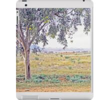 Rolling hills on the horizon iPad Case/Skin
