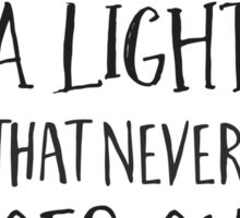 There is a light that never goes out Sticker