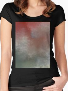 Mist. Women's Fitted Scoop T-Shirt