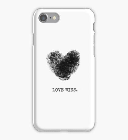 ♥ LOVE WINS ♥ iPhone Case/Skin