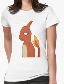 Distressed Charmeleon Womens Fitted T-Shirt