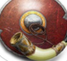 Boromir's horn Sticker
