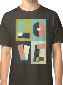 LOVE - typography full colour Classic T-Shirt