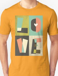 LOVE - typography full colour Unisex T-Shirt