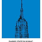 World Sketches - Empire State Building Sketch by springwoodbooks